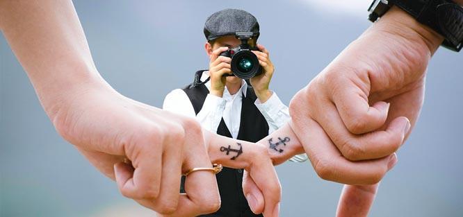 Rychlá svatba - fotograf