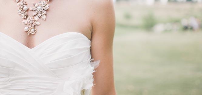 Rychlá svatba - šaty