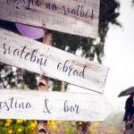 Svatební rozcestník