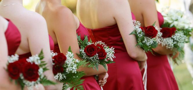 Jak vybrat barvu na svatbu - červená
