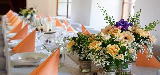 Jak vybrat barvu na svatbu - oranžová