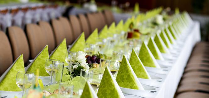 Jak vybrat barvu na svatbu - zelená