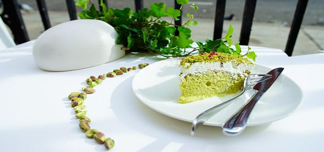 Svatba do zelena - dort