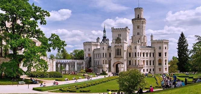 Svatba na zámku Hluboká