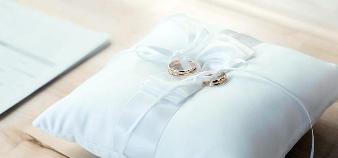 Svatba v bílé