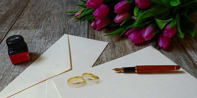 Svatební oznámení po svatbě - text