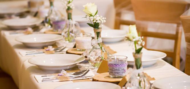 Hnědá svatba - tabule