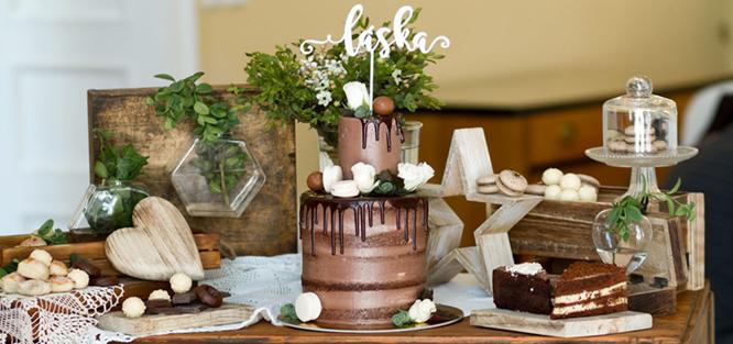 Svatba v hnědé