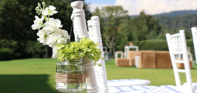 Svatba v zahradě - tipy