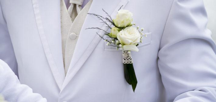 Svatební korsáž