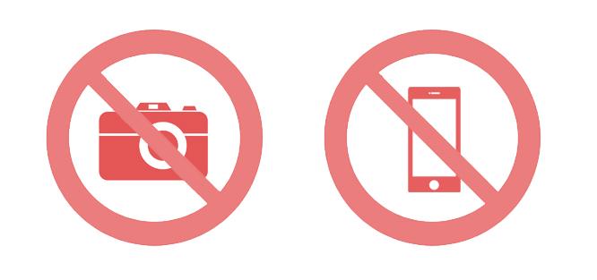 Zákaz fotografování na svatbě