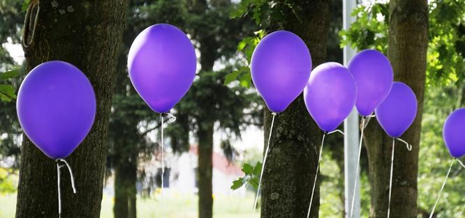 Balonky na svatbu
