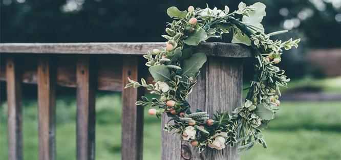 Domácí výroba svatební dekorace