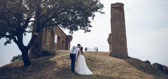 Přírodní svatba - obřad