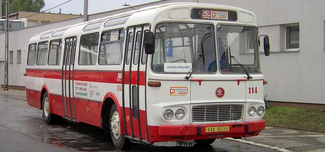 Svatební autobus - ŠL 11