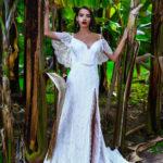 Jak vybrat svatební šaty – lehké krajkové šaty