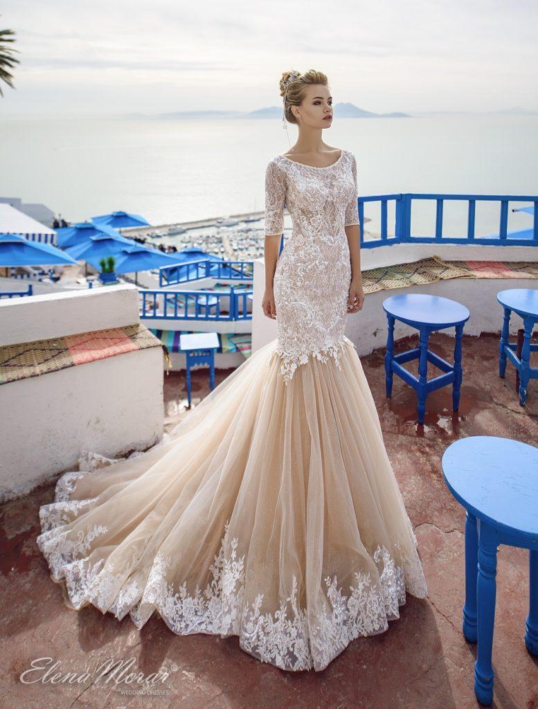 Jak vybrat svatební šaty - Šaty typu mořská panna