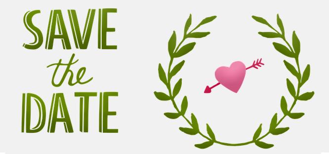 Svatební oznámení - save the date