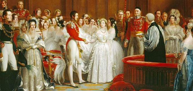 Černé svatební šaty - historie