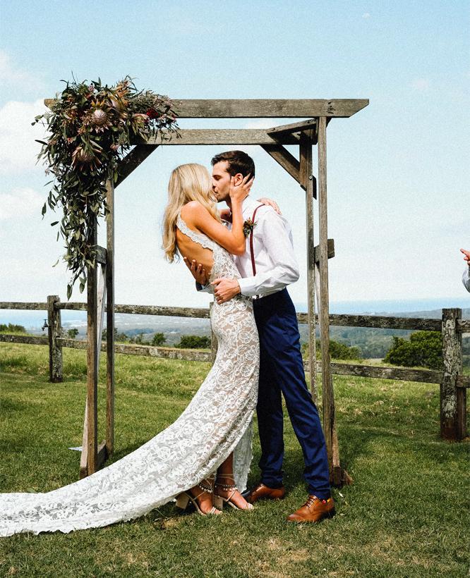Jak vypadají boho svatební šaty