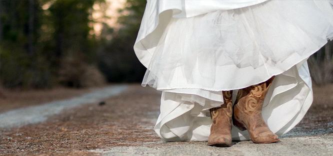 Svatební boty - místo a období