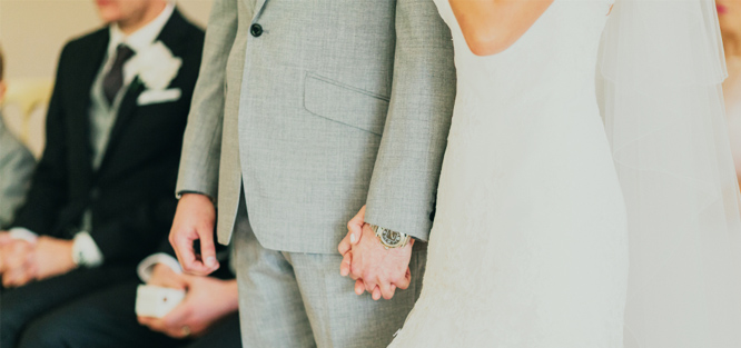 Větší malá svatba