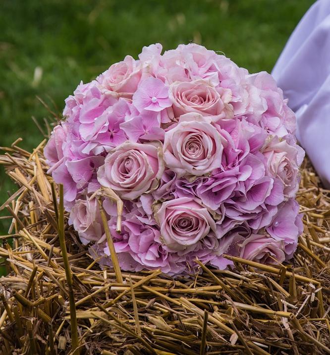 Rustikální styl svatby