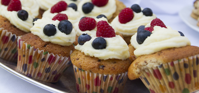 Cupcake - cukroví na svatbu