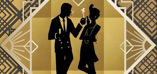 Glamour svatba - chování
