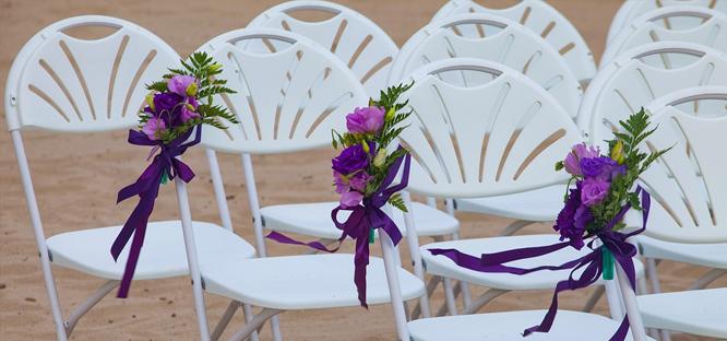 Svatba na pláži - přípravy