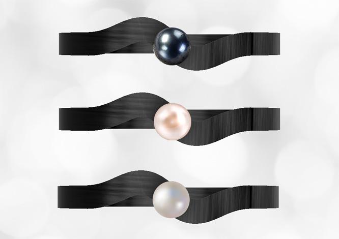 Snubní prsteny z karbonu