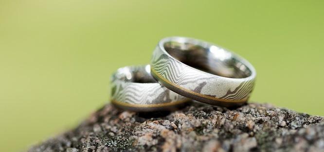 Svatební prsten hladký/zdobený